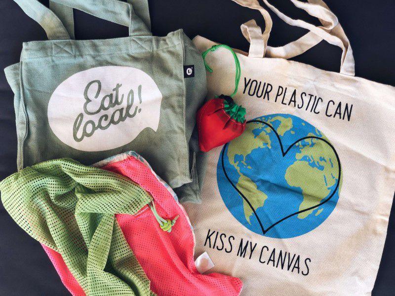 Znovupoužiteľné nákupné tašky
