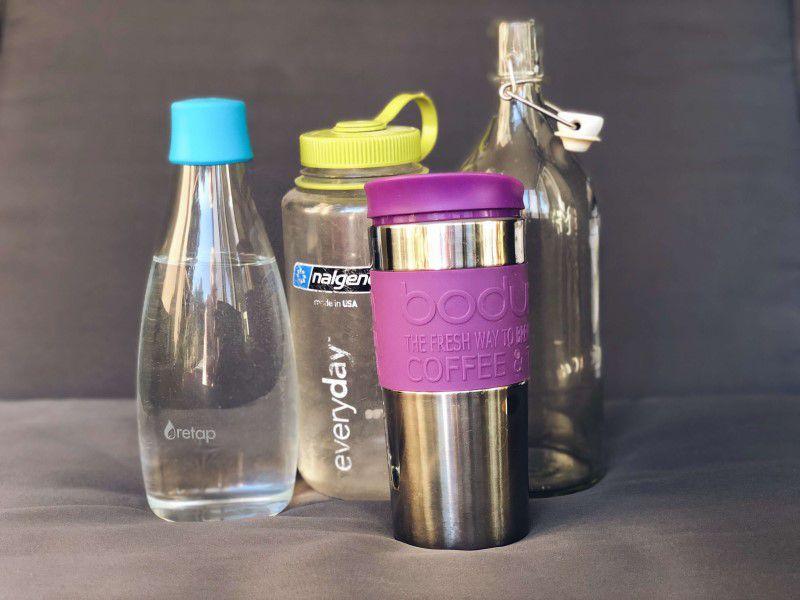 Termo pohár a iné znovupoužiteľné fľaše